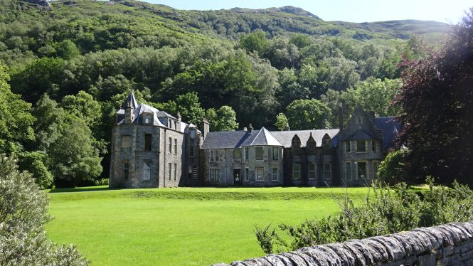 Inverailort House in Scotland