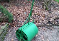 A lawn roller