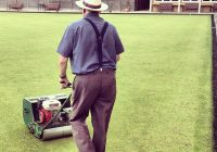 Mowing too short